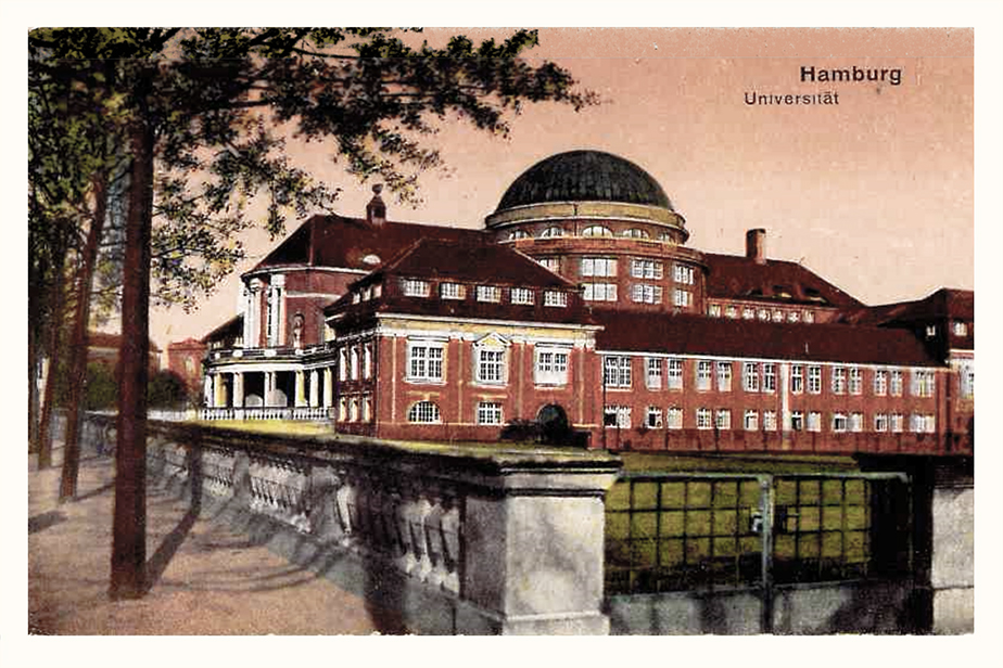 Postcard from the University´s Mainbuilding, around 1930