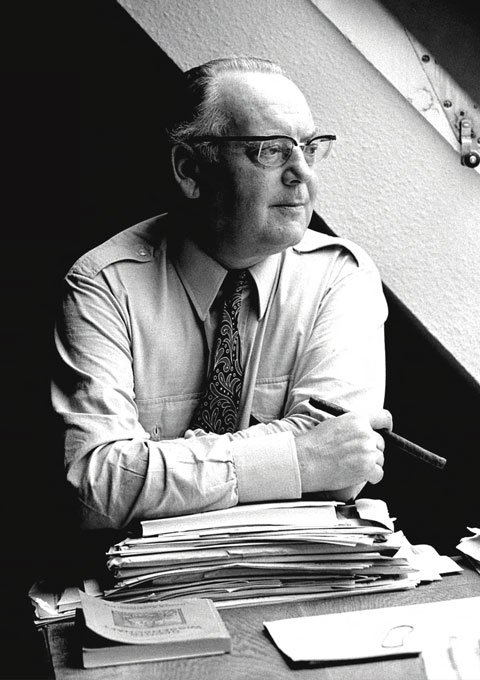 Portrait of Helmut Schelsky